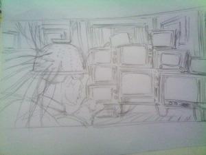 Cover sketch 1